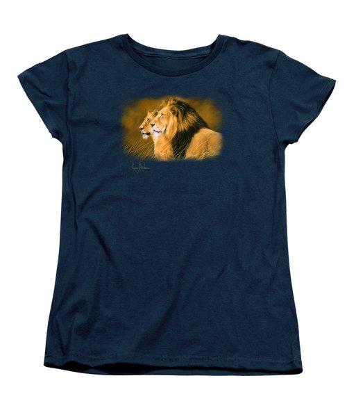 Side By Side Women's T-Shirt (Standard Cut) by Lucie Bilodeau