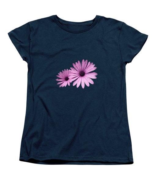 Dew Drops On Daisies Women's T-Shirt (Standard Fit)