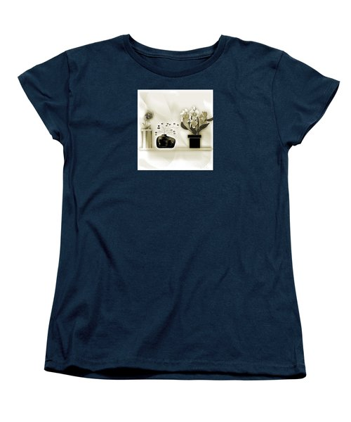 Vase 3 Women's T-Shirt (Standard Cut) by Iris Gelbart