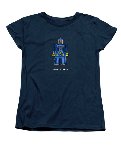 R3 Tr0 Robot Women's T-Shirt (Standard Cut) by Mark Rogan
