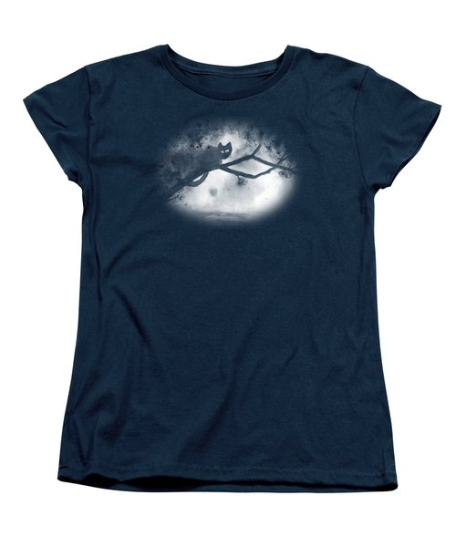 Chat Dans L'arbre Women's T-Shirt (Standard Cut)