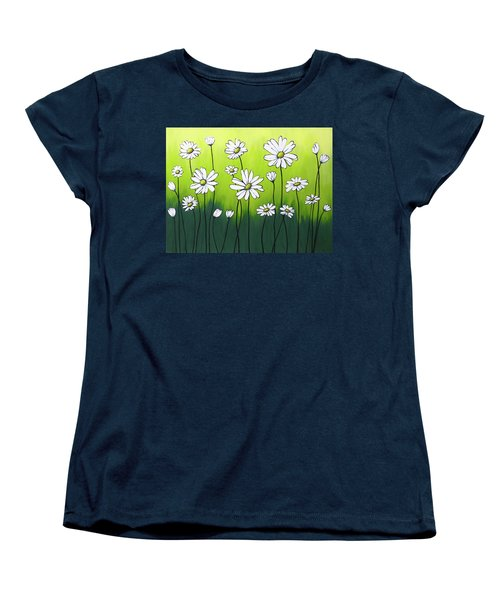 Daisy Crazy Women's T-Shirt (Standard Cut) by Teresa Wing
