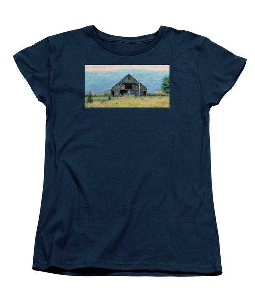 Still Standing Women's T-Shirt (Standard Cut) by Bonnie Mason