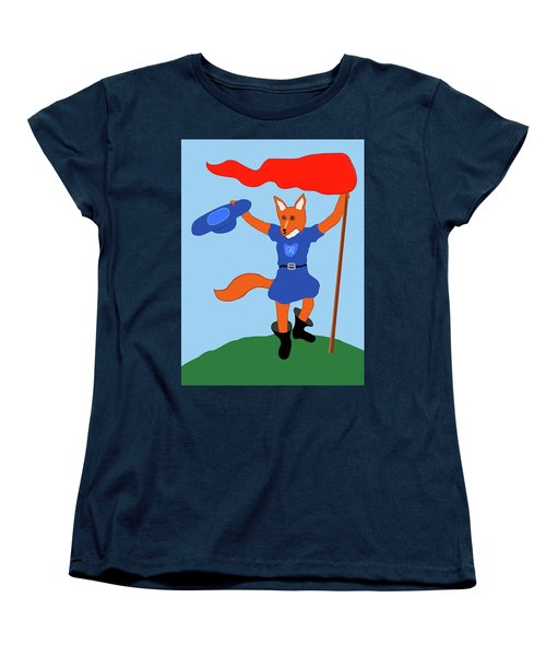 Reynard The Fairy Tale Fox Women's T-Shirt (Standard Cut) by Marian Cates