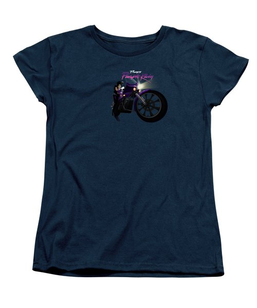 I Grew Up With Purplerain Women's T-Shirt (Standard Cut) by Nelson dedos Garcia