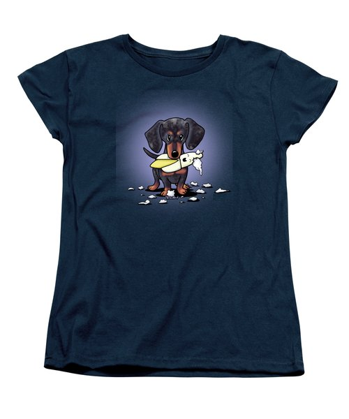 Dapple Doxie Destroyer Women's T-Shirt (Standard Cut)