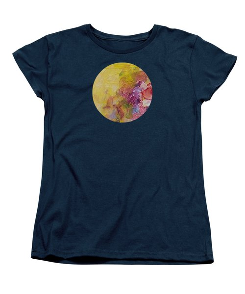 Floral Still Life Women's T-Shirt (Standard Cut) by Mary Wolf