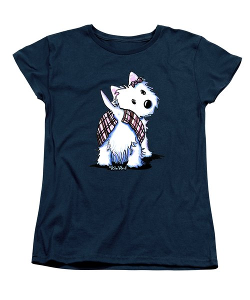 Dressed To Kilt Westie Women's T-Shirt (Standard Cut)