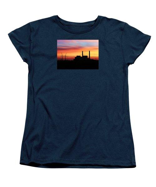 A Gentleman Sunrise Women's T-Shirt (Standard Cut) by Bill Kesler