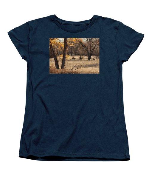 Shades Of Autumn Women's T-Shirt (Standard Cut) by Bill Kesler