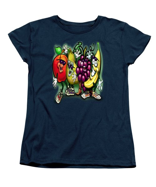 Fruits Women's T-Shirt (Standard Cut) by Kevin Middleton