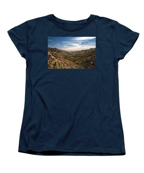 Women's T-Shirt (Standard Cut) featuring the photograph As Far As The Eye Can See by Joe Kozlowski