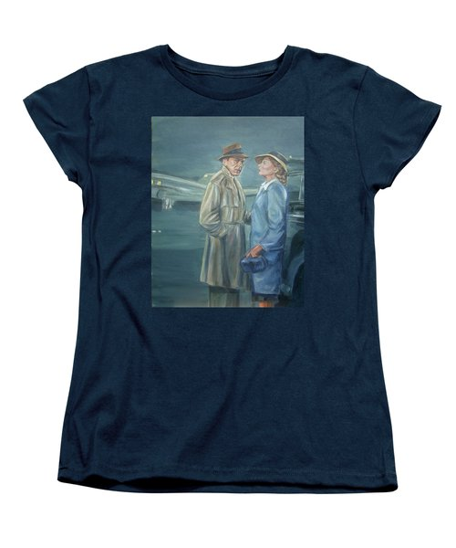 As Time Goes By Women's T-Shirt (Standard Cut) by Bryan Bustard