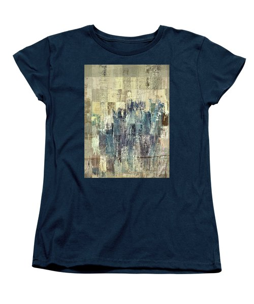 Women's T-Shirt (Standard Cut) featuring the painting Ascension - C03xt-159at2b by Variance Collections