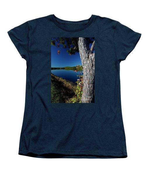 Ashley Reservoir Women's T-Shirt (Standard Cut) by Jim Gillen