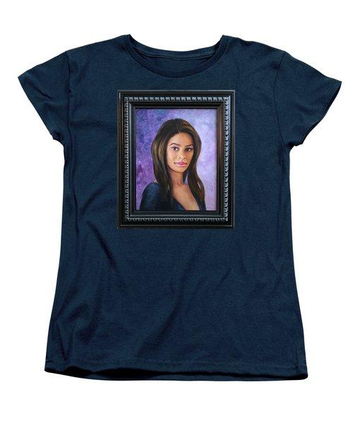 Ashly Ann Women's T-Shirt (Standard Cut) by Richard Barone