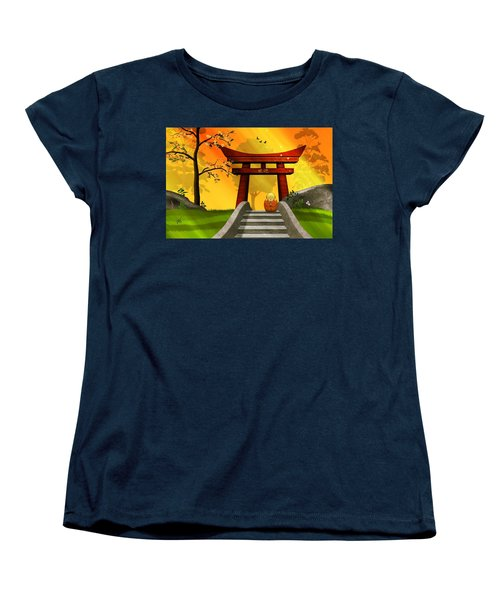 Asian Art Chinese Spring Women's T-Shirt (Standard Cut) by John Wills