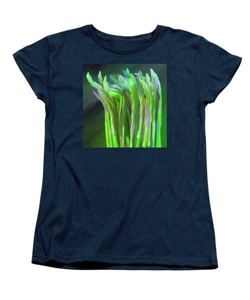 Asparagus Study 01 Women's T-Shirt (Standard Cut) by Wally Hampton