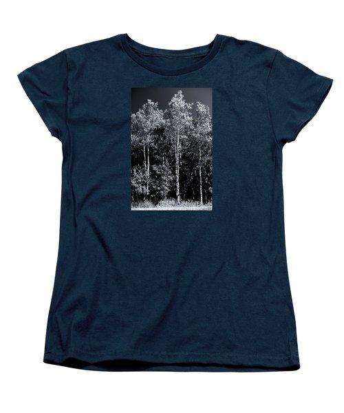 Aspen Drama Women's T-Shirt (Standard Cut) by Shelly Gunderson