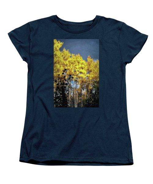 Aspen Impressions Women's T-Shirt (Standard Cut) by Jim Hill