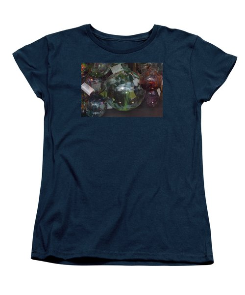 Assorted Witching Balls Women's T-Shirt (Standard Cut) by Suzanne Gaff