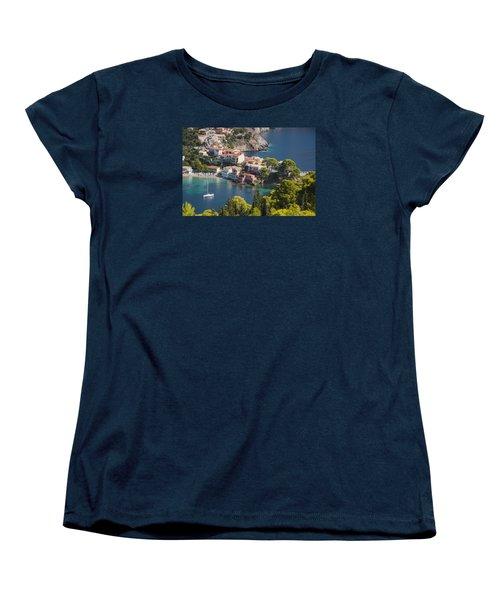 Assos In Greece Women's T-Shirt (Standard Cut)
