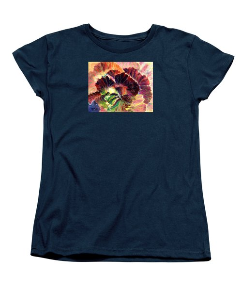 Astonishing Cabbage  Pastel Women's T-Shirt (Standard Cut) by Antonia Citrino