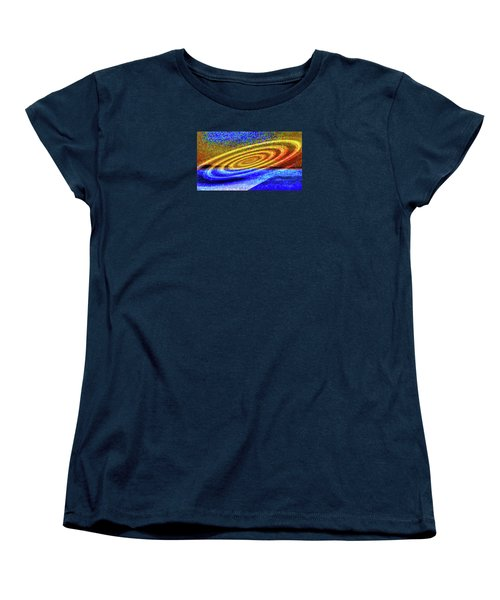 Asymmetrical Amid Chaos Women's T-Shirt (Standard Cut) by Mike Breau