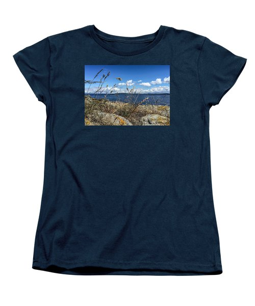 Women's T-Shirt (Standard Cut) featuring the photograph At Point Lawrence by William Wyckoff
