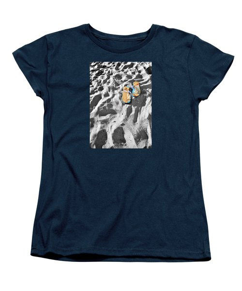 Women's T-Shirt (Standard Cut) featuring the photograph At Sea by Marwan Khoury