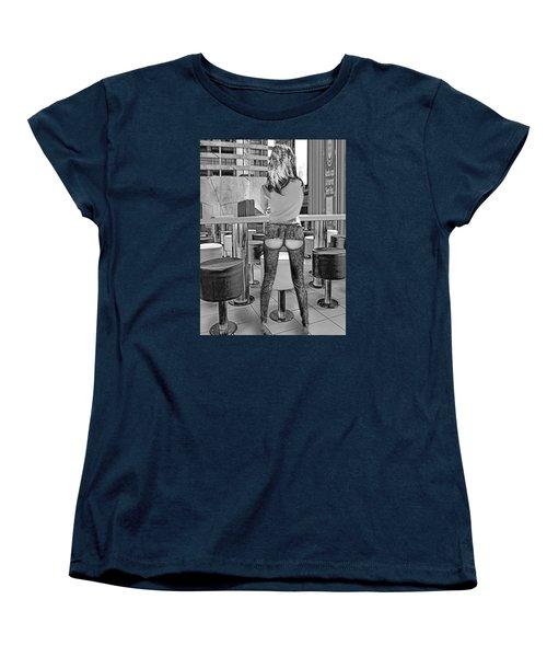 At The Bar Women's T-Shirt (Standard Cut) by Emada Photos