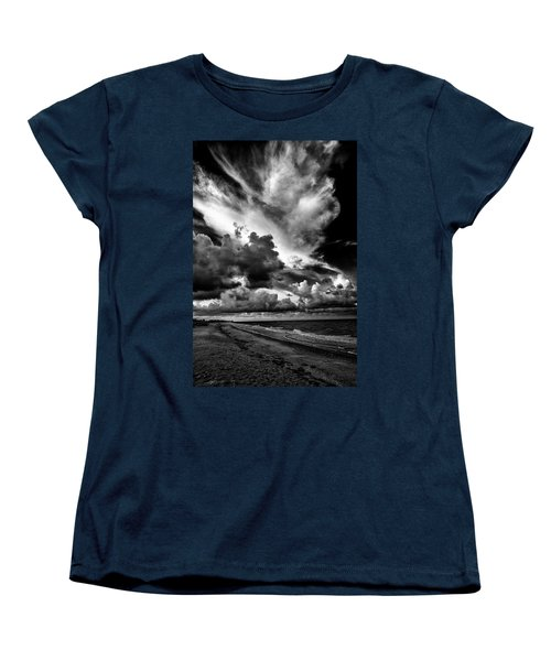 At The Beach Women's T-Shirt (Standard Cut) by Kevin Cable