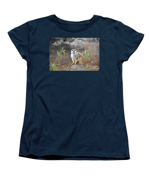 Women's T-Shirt (Standard Cut) featuring the photograph At The Watch by John Black