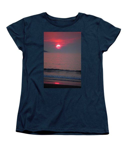 Atlantic Sunrise Women's T-Shirt (Standard Cut) by Sumoflam Photography