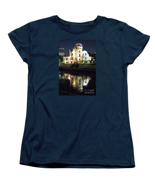 Women's T-Shirt (Standard Cut) featuring the photograph Atomic Dome - Symbol Of Destruction And Hope by Pravine Chester