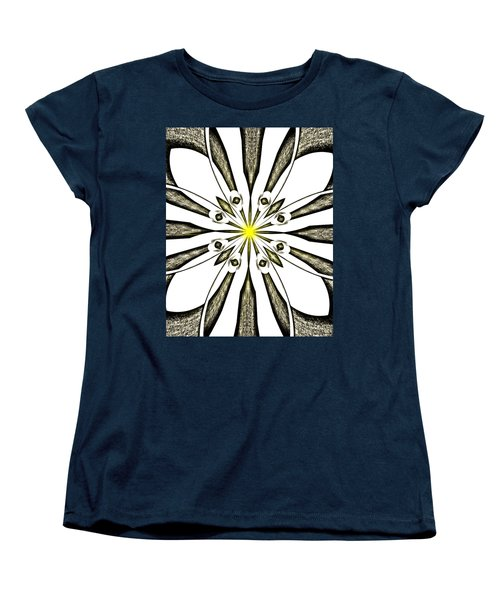 Atomic Lotus No. 3 Women's T-Shirt (Standard Cut) by Bob Wall