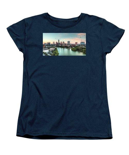 Atx Bats Women's T-Shirt (Standard Cut) by Andrew Nourse