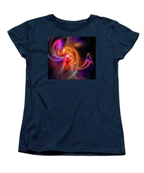 August Moon Women's T-Shirt (Standard Cut) by DC Langer