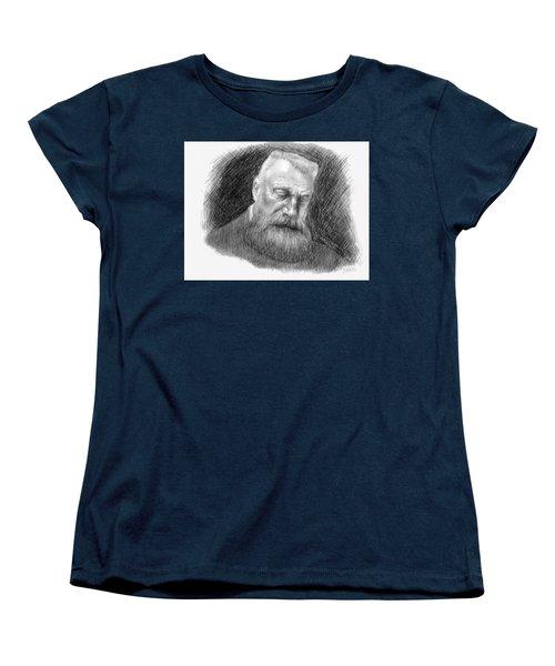 Auguste Rodin Women's T-Shirt (Standard Cut) by Antonio Romero