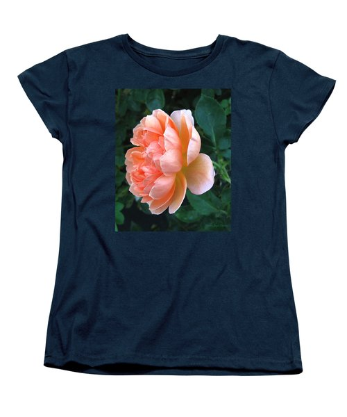 Women's T-Shirt (Standard Cut) featuring the photograph August Rose 09 by Joyce Dickens