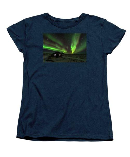 Aurora Storm Women's T-Shirt (Standard Cut) by Allen Biedrzycki