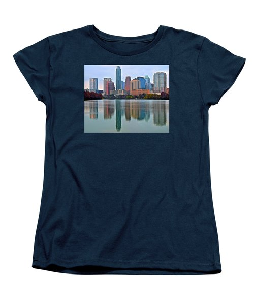Austin Shimmer  Women's T-Shirt (Standard Cut) by Frozen in Time Fine Art Photography