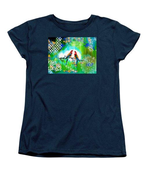 Australian Women's T-Shirt (Standard Cut) by Cathy Jacobs