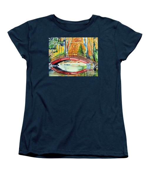 Autumn Beauty Women's T-Shirt (Standard Cut) by Tom Riggs