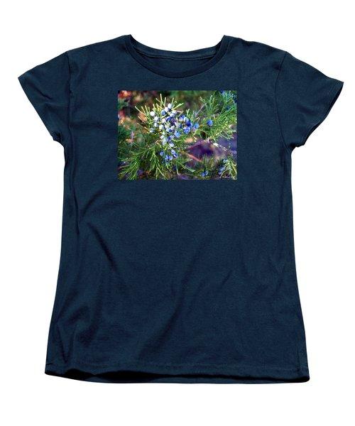 Women's T-Shirt (Standard Cut) featuring the photograph Autumn Berries by Betty Northcutt