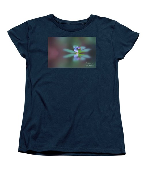 Autumn Clover Droplet Women's T-Shirt (Standard Cut)