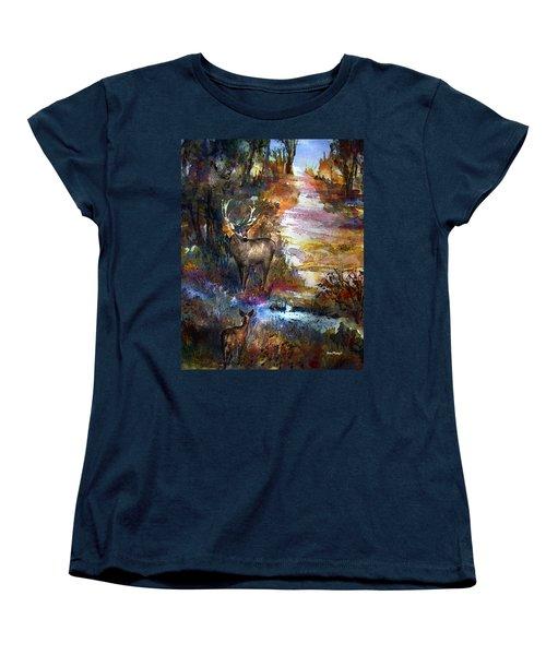 Autumn Encounter Women's T-Shirt (Standard Cut)