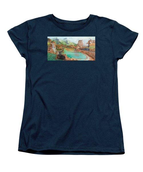 Autumn Women's T-Shirt (Standard Cut) by Farzali Babekhan