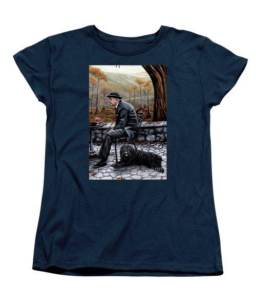 Autumn Friends Women's T-Shirt (Standard Cut) by Judy Kirouac