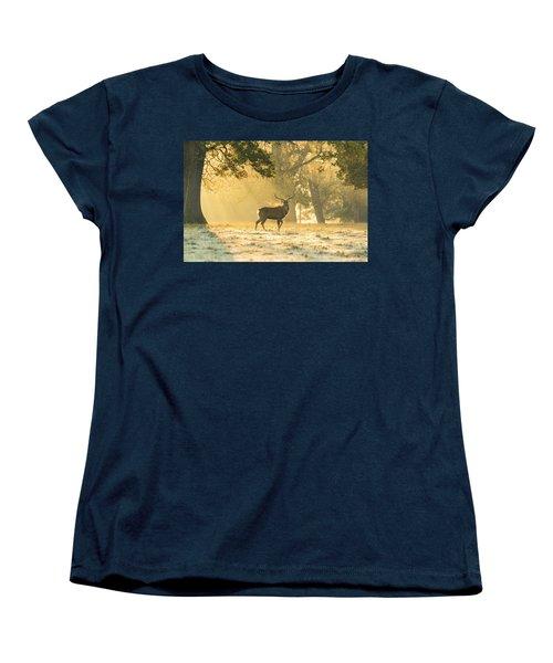 Women's T-Shirt (Standard Cut) featuring the photograph Autumn Frost by Scott Carruthers